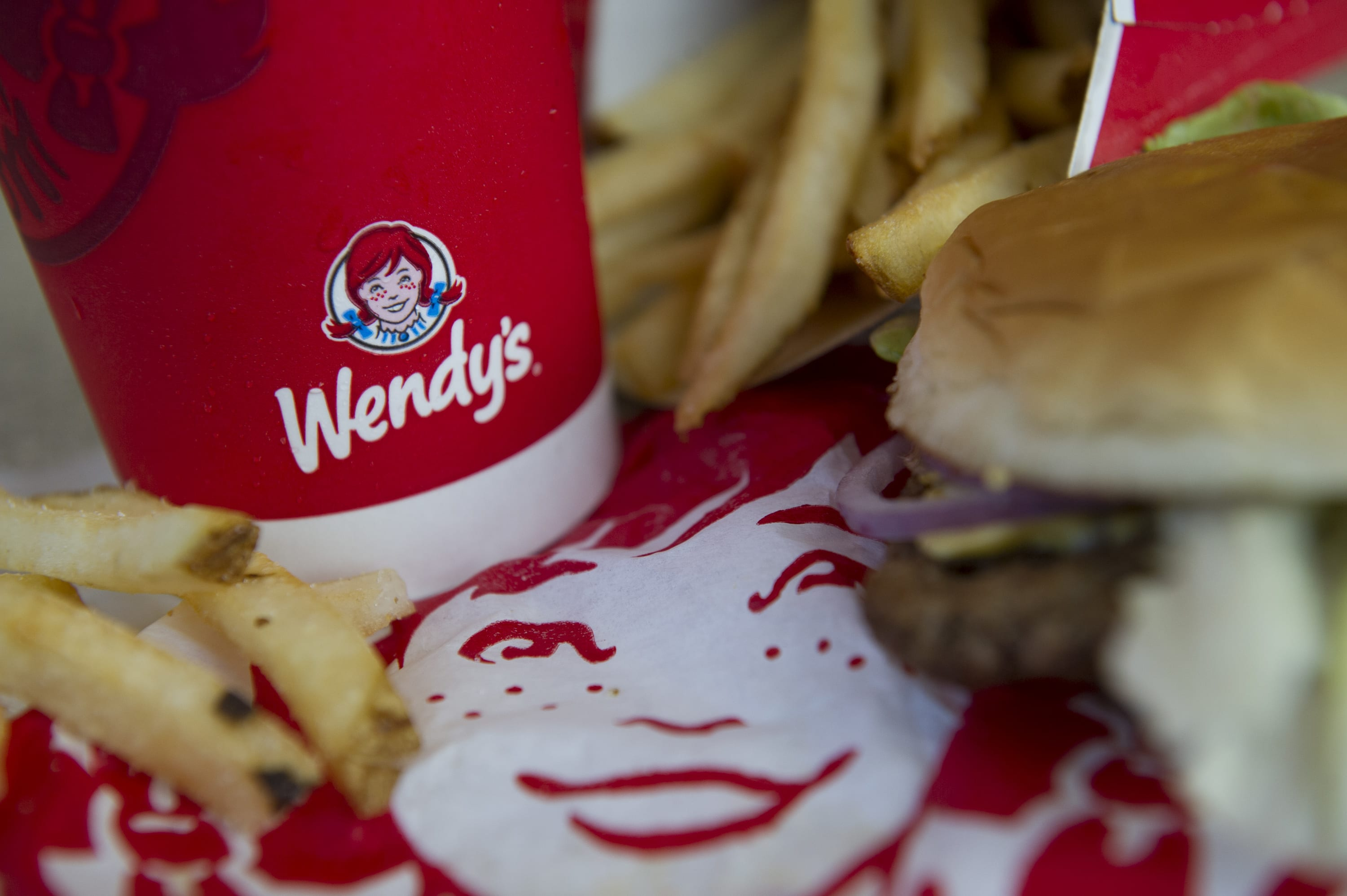 Stocks making the biggest moves midday: Wendy's, Starbucks, Maxar