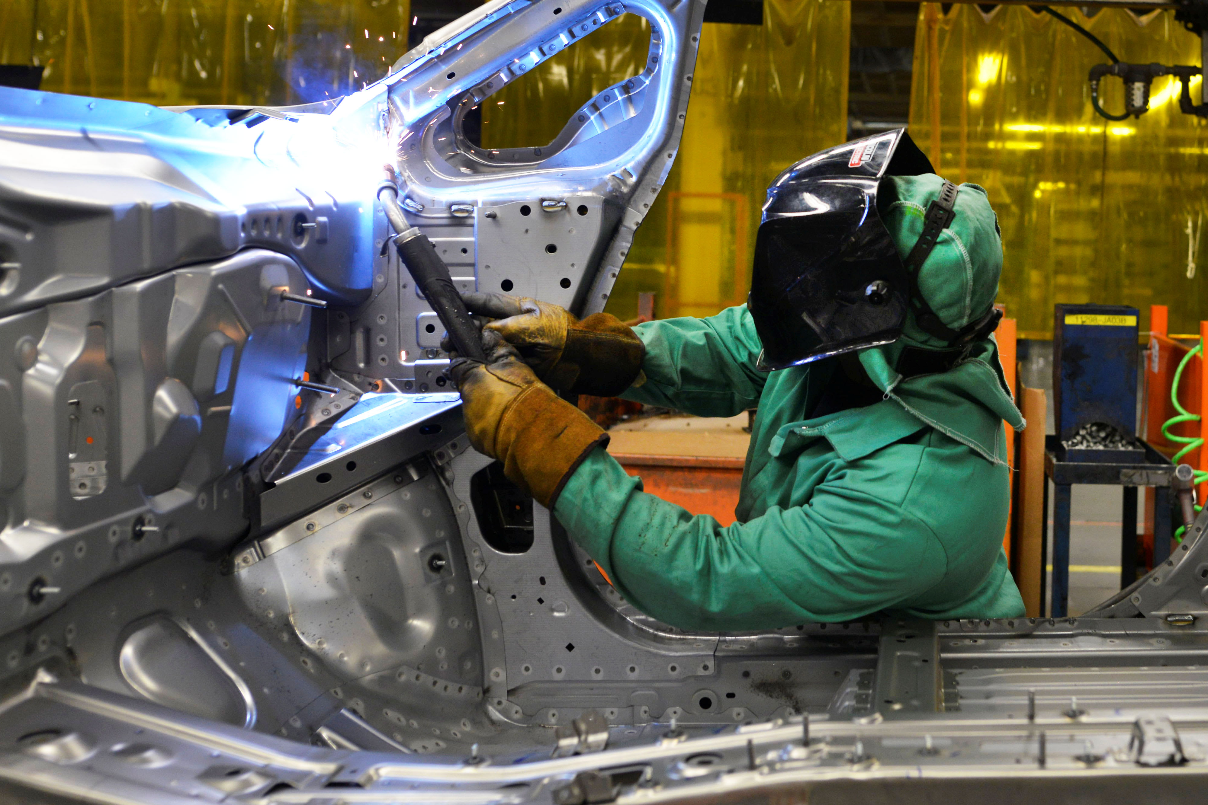 The manufacturing sector is contracting, according to ISM survey