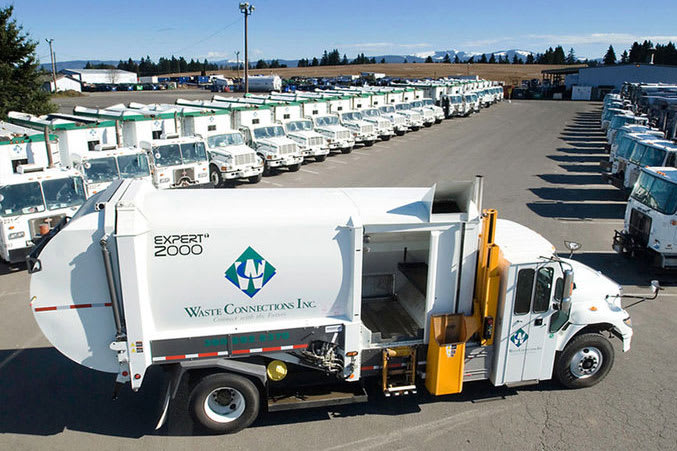 These investors made a killing betting on waste management company