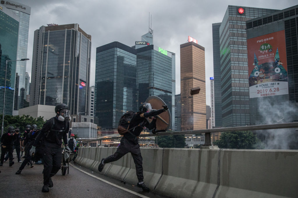 UBS and Credit Suisse on money leaving Hong Kong amid protests