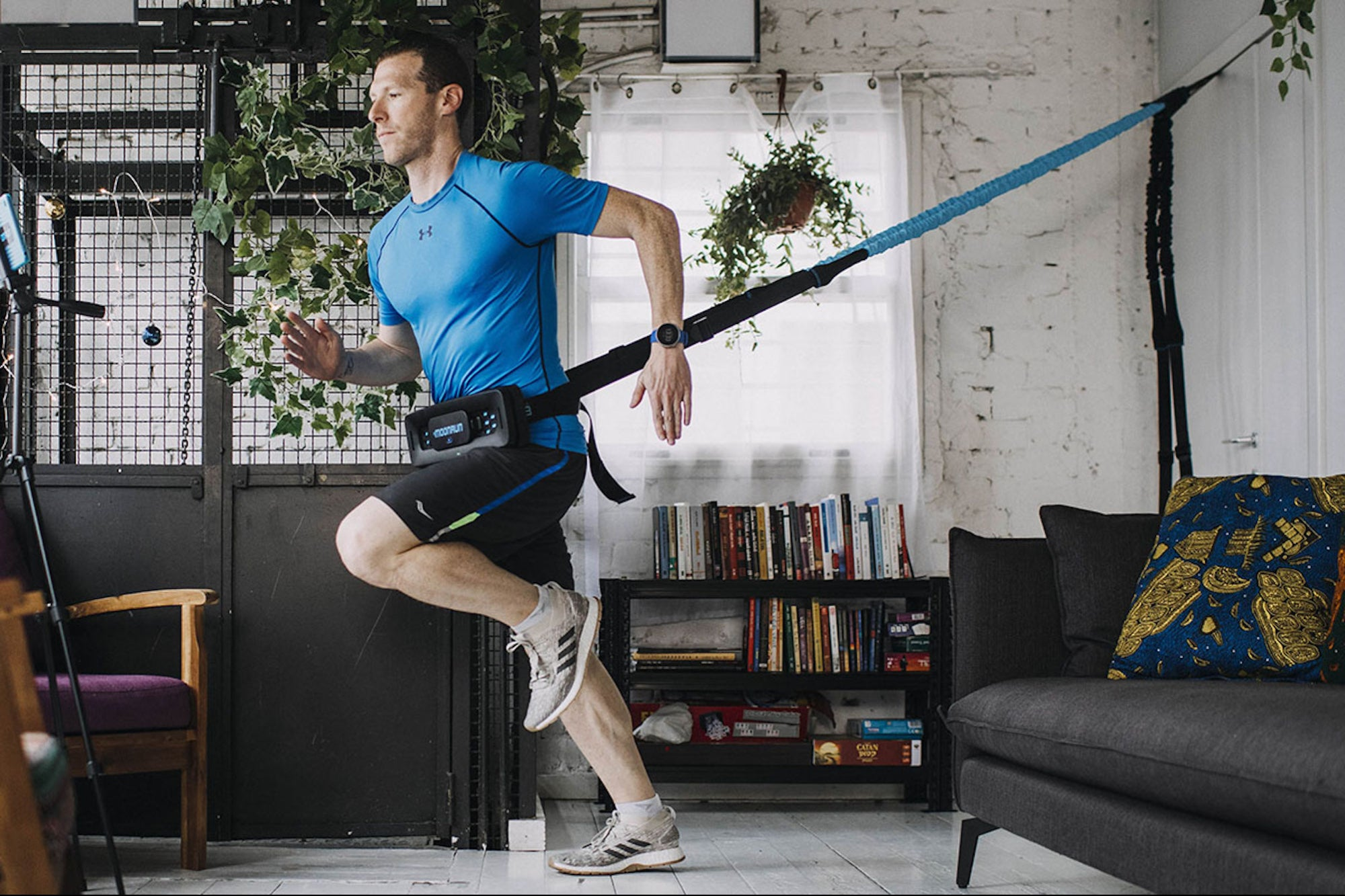 Why Splurge on Peloton? Instead, This Device Gives You a Full Cardio Workout in Your Living Room.