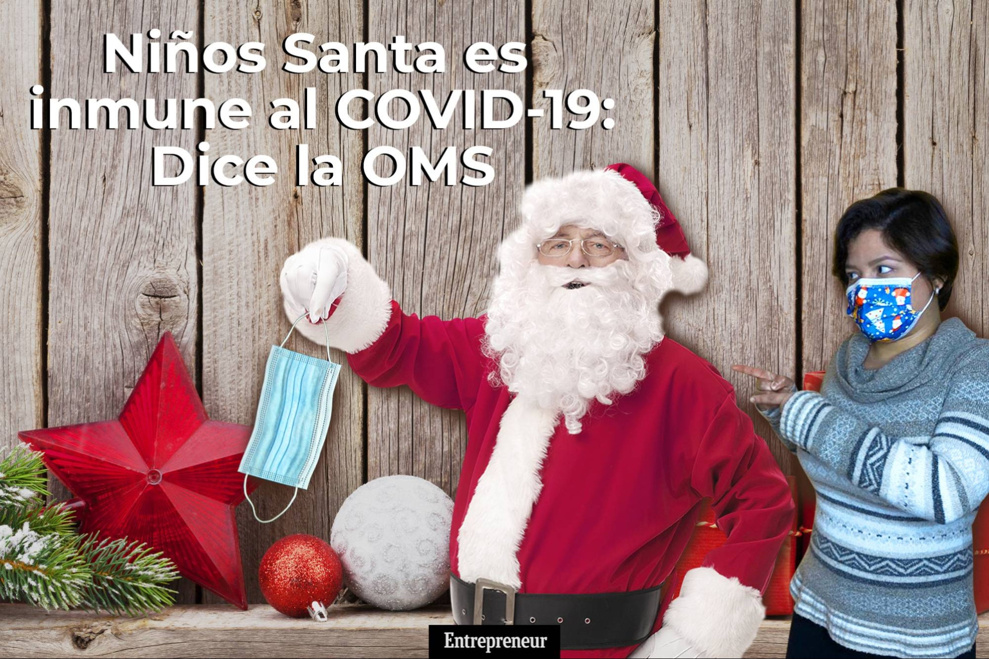 Emprendenews: Santa is immune to COVID