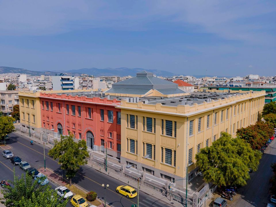 Massive Former Tobacco Factory in Athens to Become Art Space