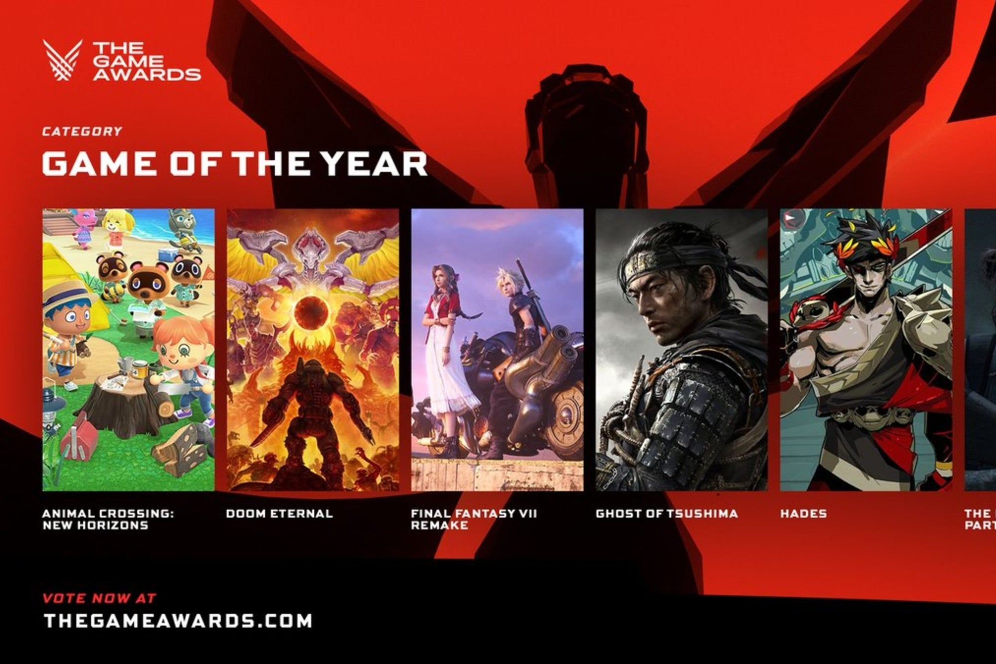 The 2020 Game Awards are today! Meet the nominees for GOTY and other categories