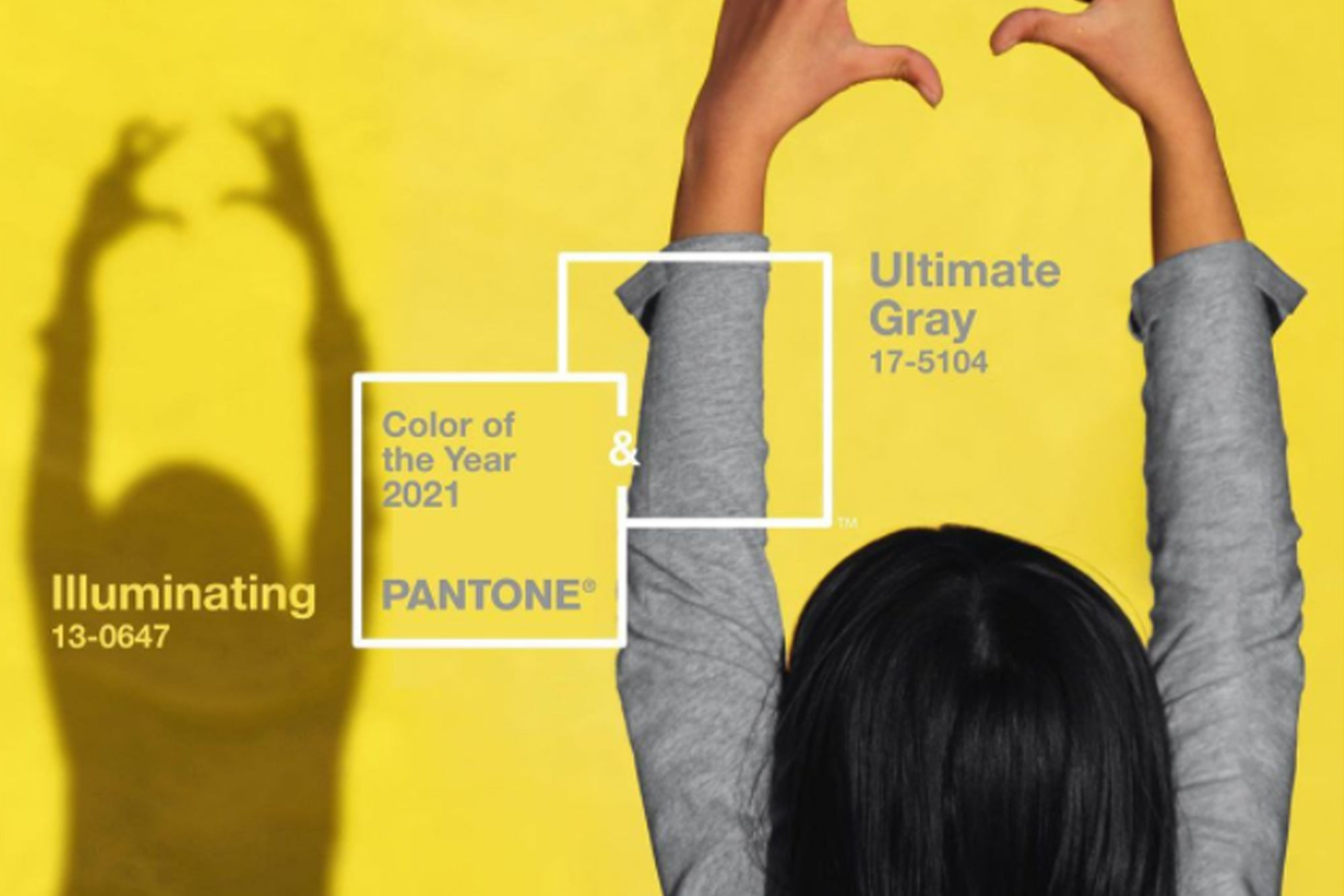 These are the two colors of the year 2021 according to the Pantone Institute