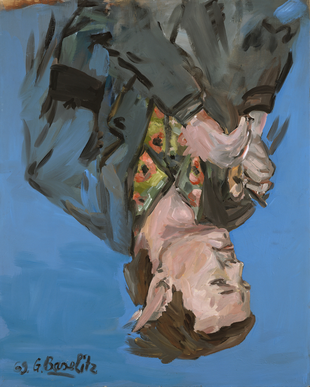 Georg Baselitz Gifts Six Upside-Down Portraits to Metropolitan Museum of Art