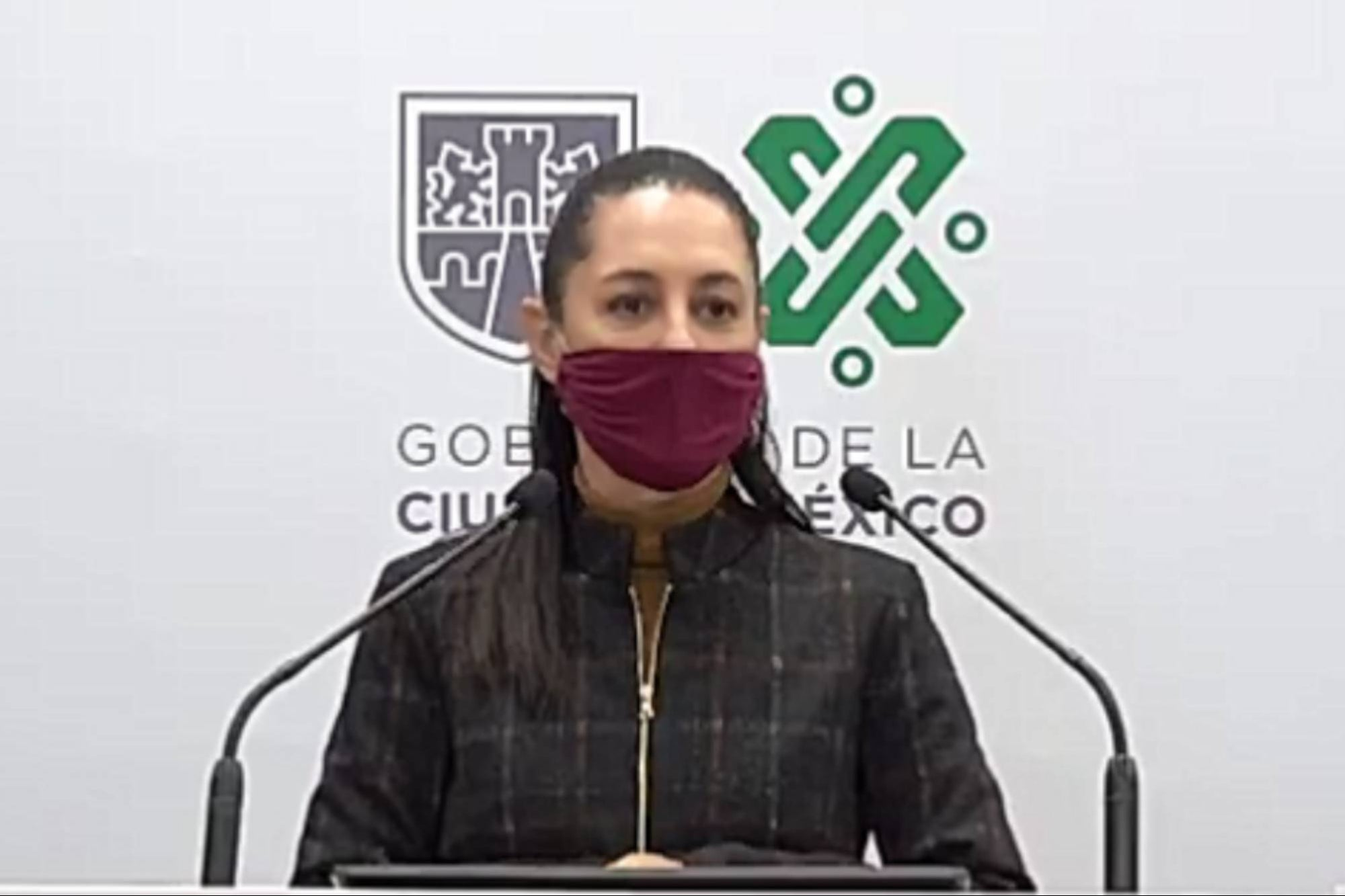 Red traffic light will be sent in Mexico City: Claudia Sheinbaum
