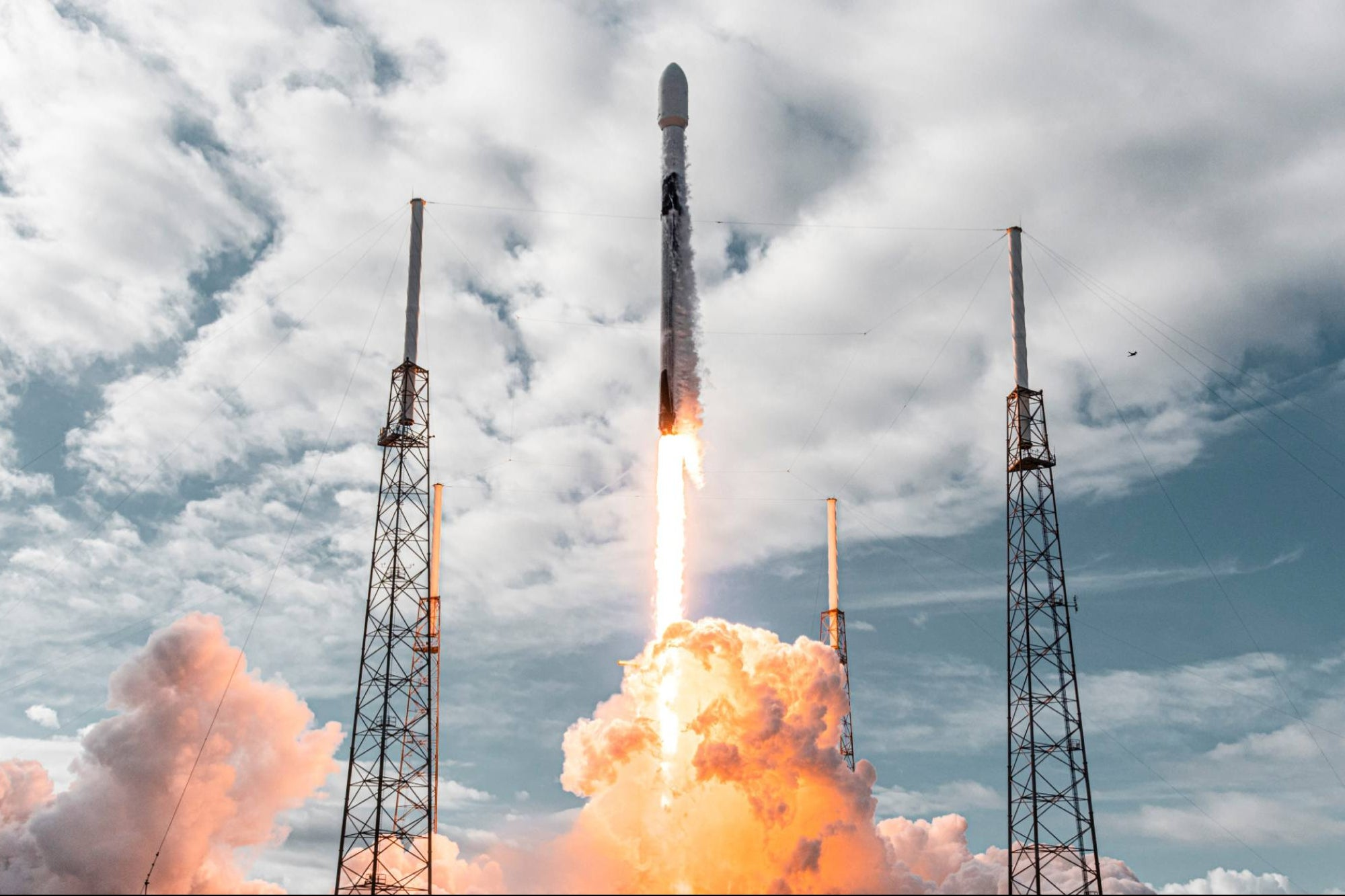 SpaceX Launches 143 Satellites on a Single Rocket, Breaks Record
