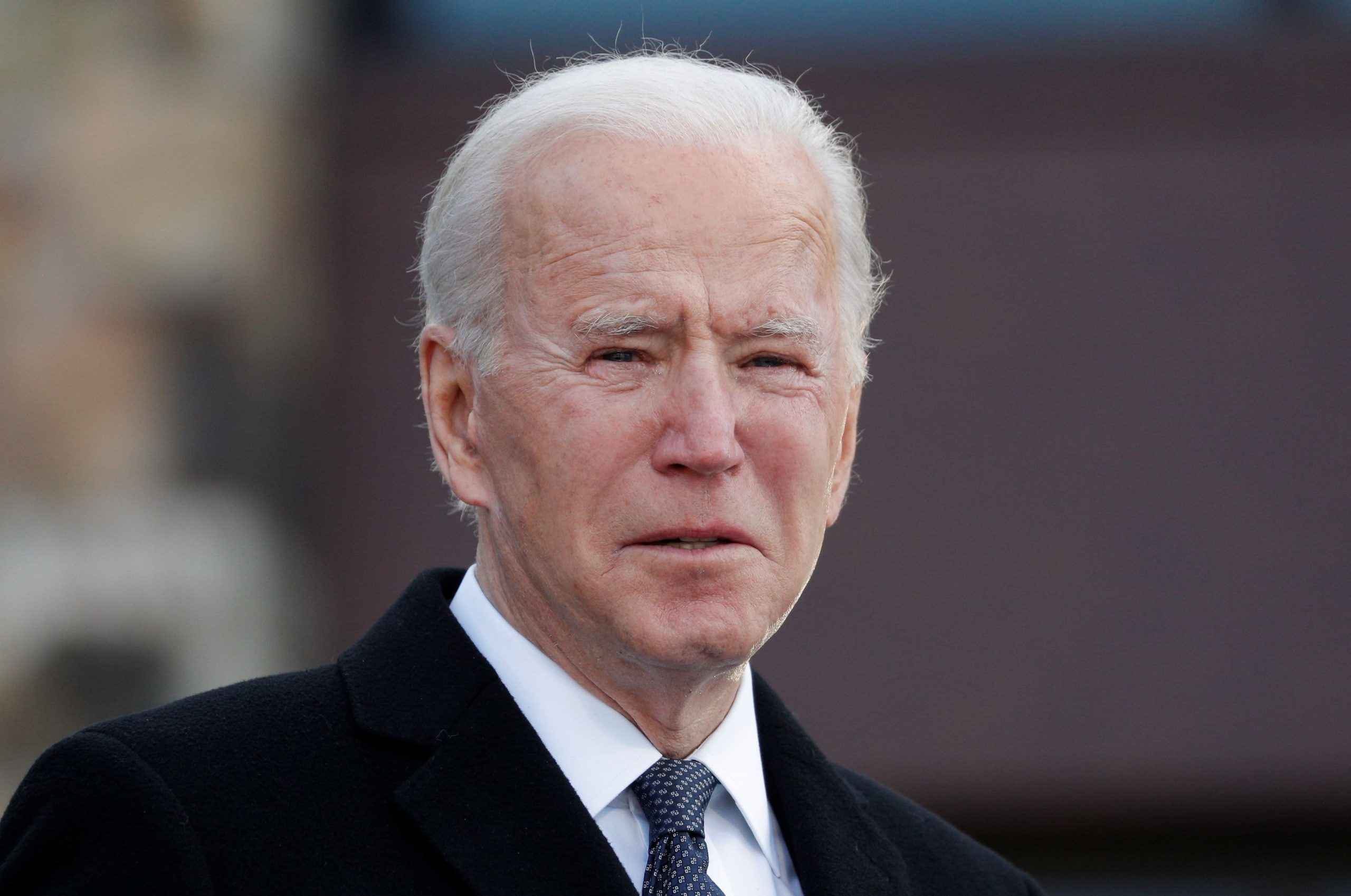 Stock futures flat in early morning trading ahead of Biden's inauguration