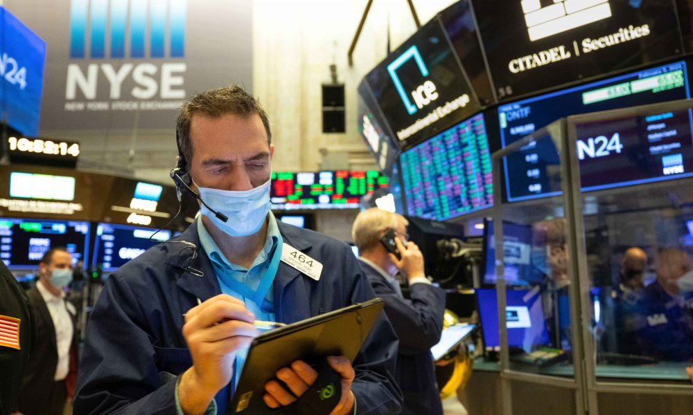 Stock futures rise as major averages try to finish best week since November