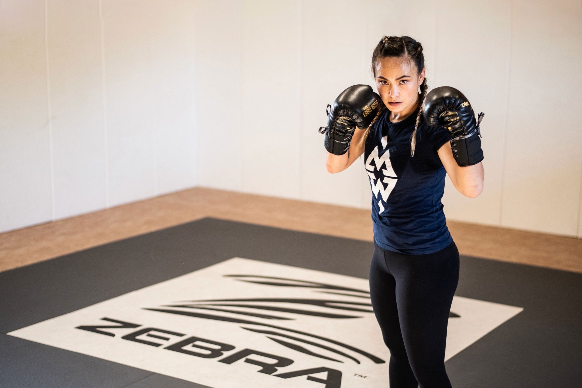 4 Rounds With UFC Women's Fighter Michelle Waterson