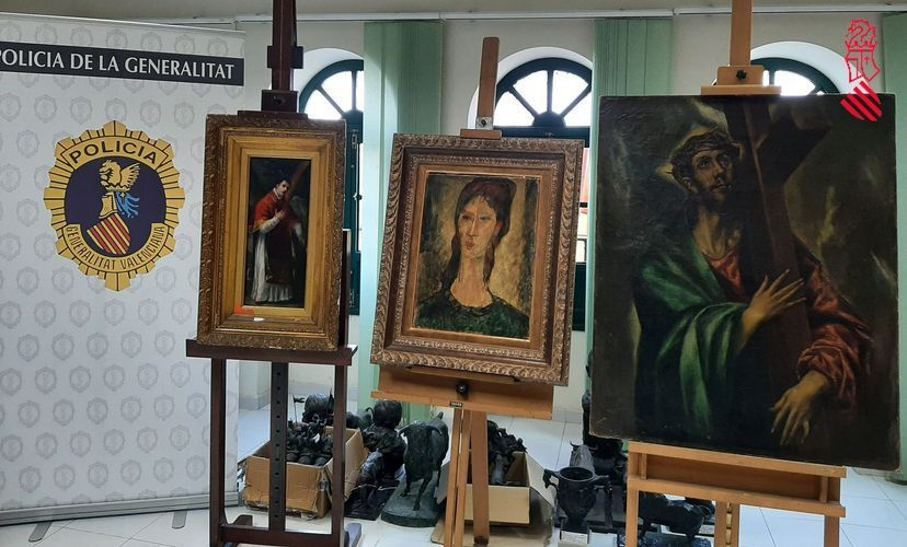 Attempted $14.7 M. Sale of Fake Works by Goya, Modigliani, and El Greco Comes to Light in Spain
