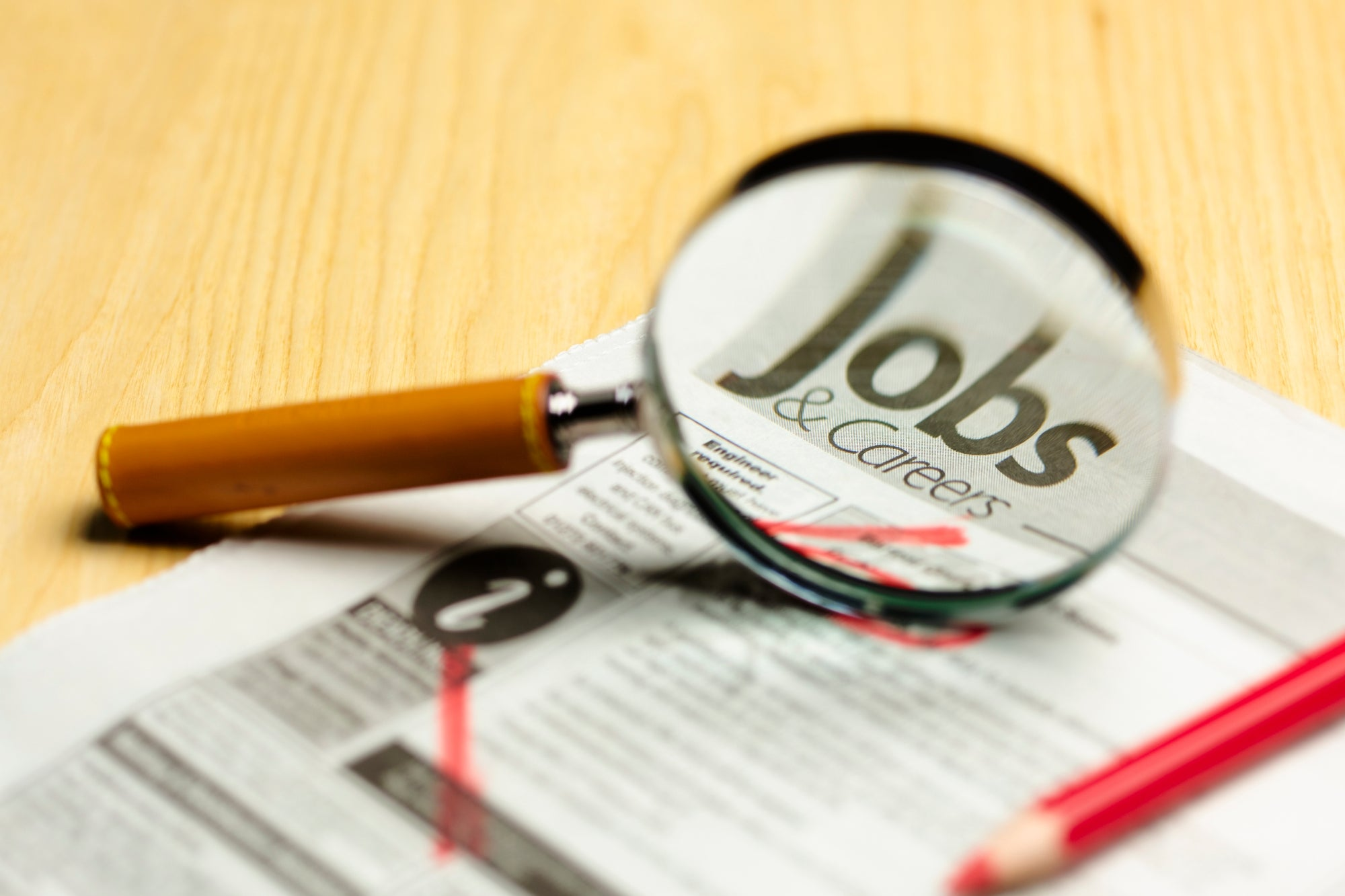 Don't Stand Still in the Job Search