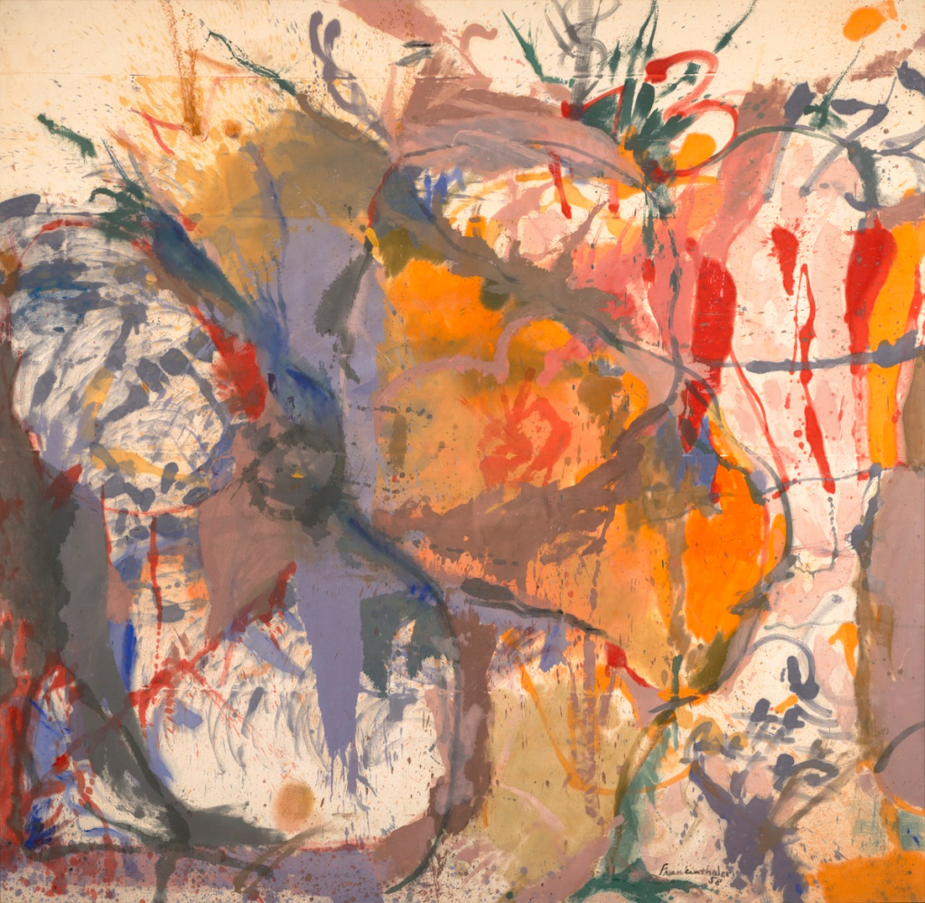 Helen Frankenthaler's Liberated Abstractions Charted a New Path for Painting