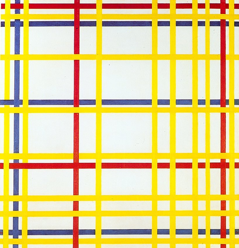How Piet Mondrian's Abstractions Became a New Way to See the World