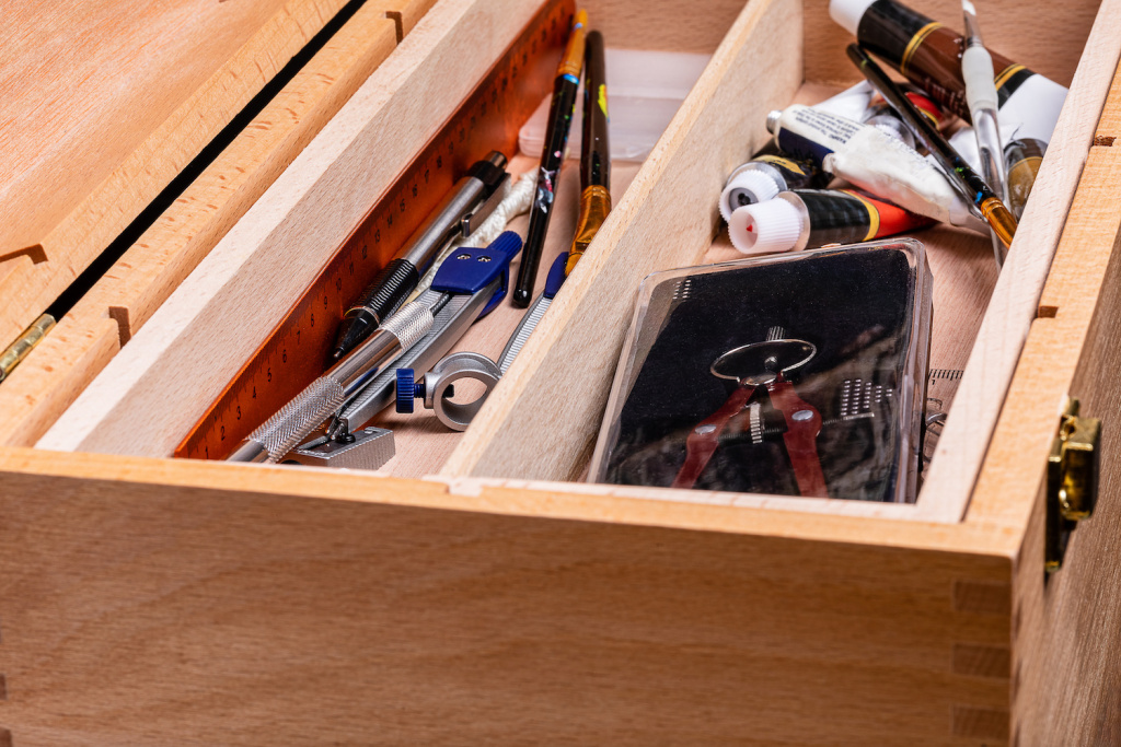 Organize Your Life and Livelihood with the Best Toolboxes for Artists