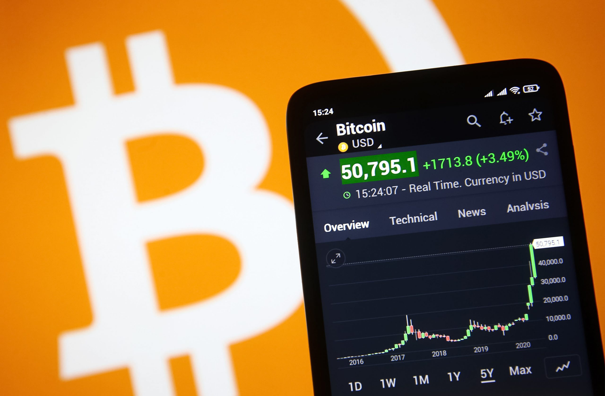 Bitcoin climbs 10% as cryptocurrency market attempts a comeback from last week's plunge