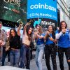 Coinbase stock whipsaws after landmark Nasdaq debut