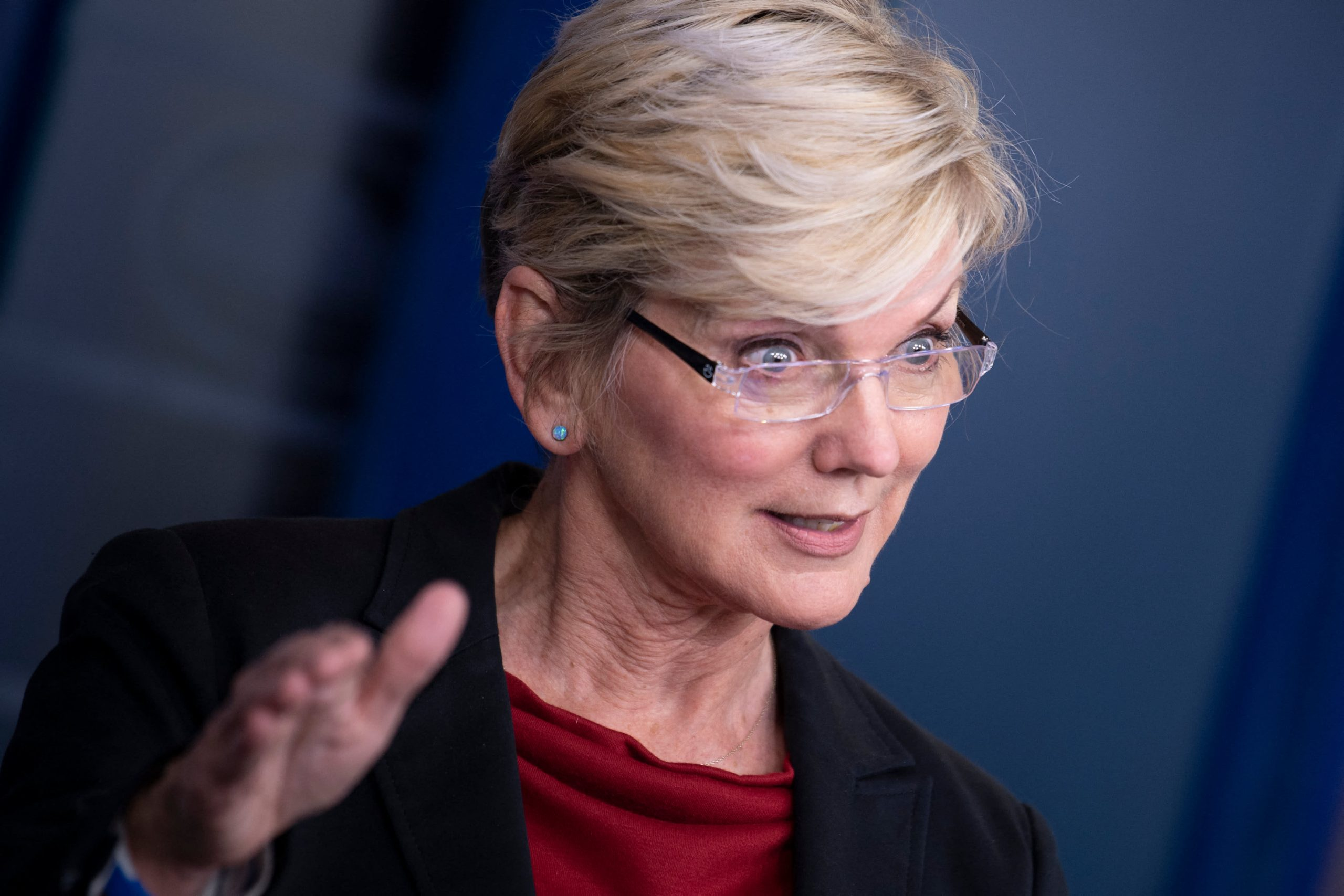 'This is our generation's moonshot,' Energy Secretary Granholm says of fighting climate change