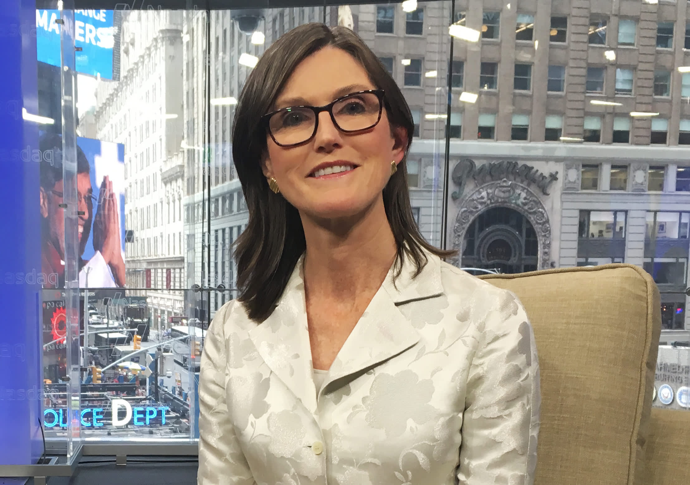Cathie Wood loves the set-up for her stocks after sell-off, expects big returns from her strategies