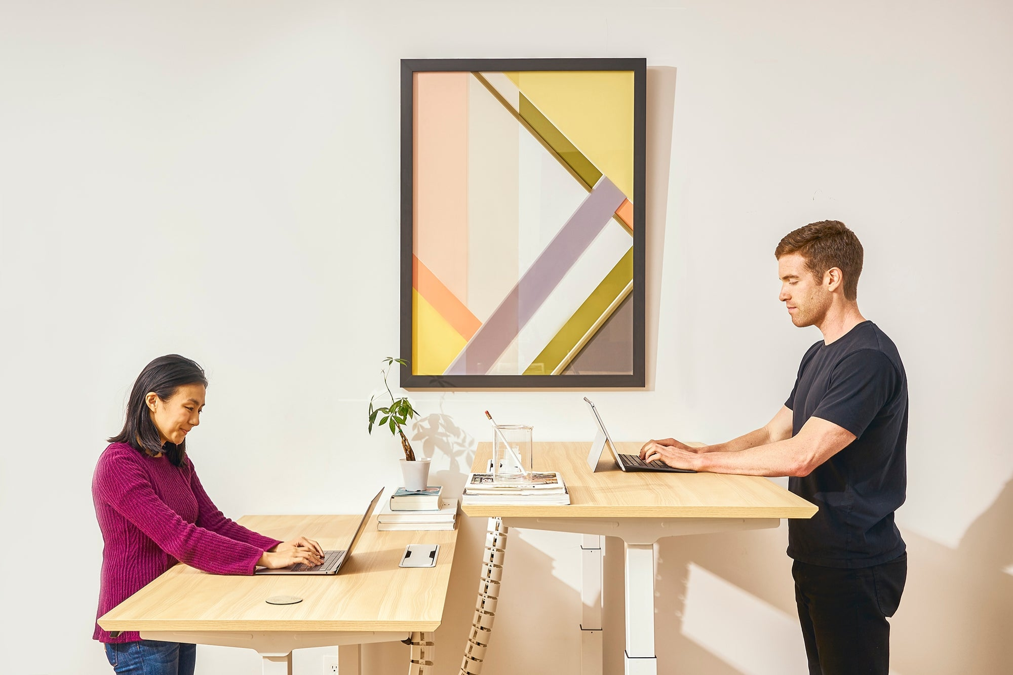 Get $50 off Branch Furniture's Highly Rated Standing Desk