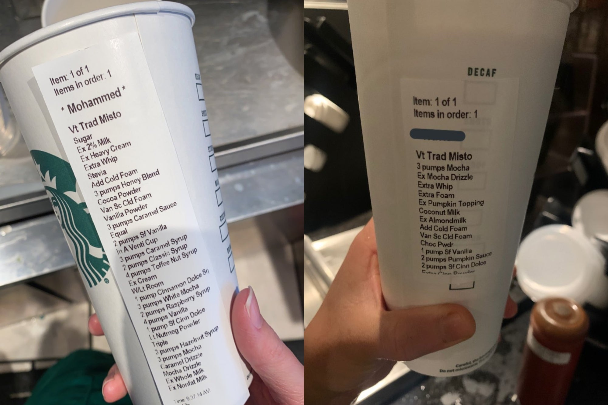 Starbucks employees complain about this trend