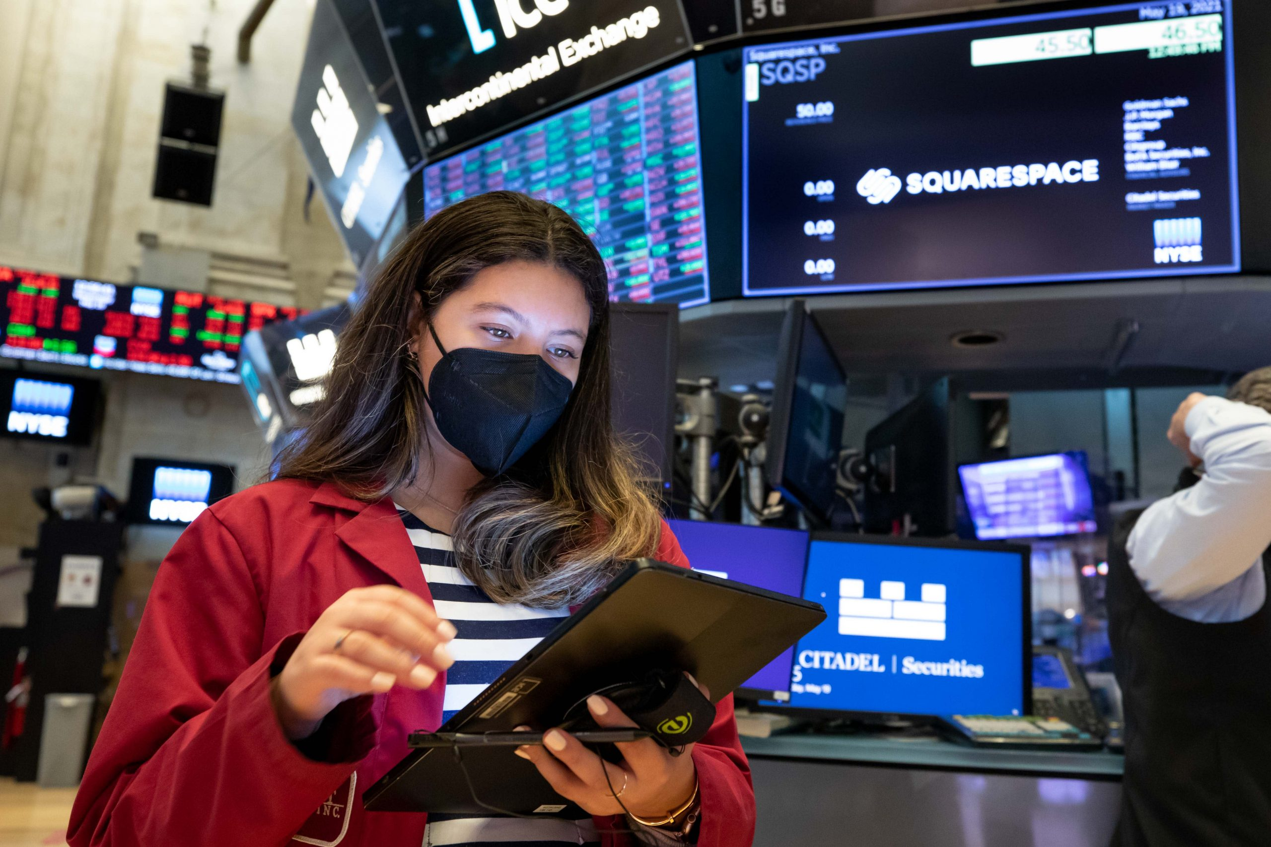 Stock futures are little changed ahead of jobs data