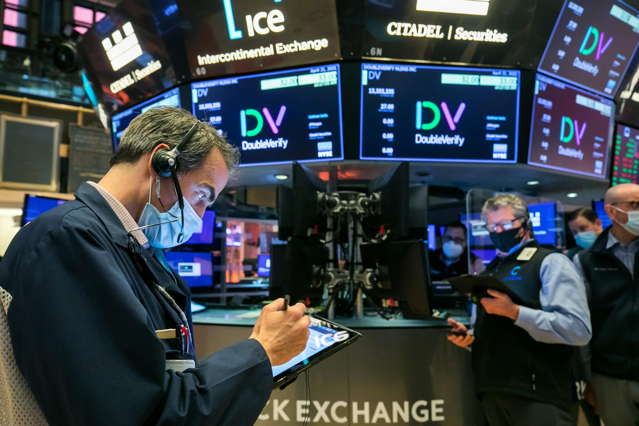 Stock futures dip after a solid start to May