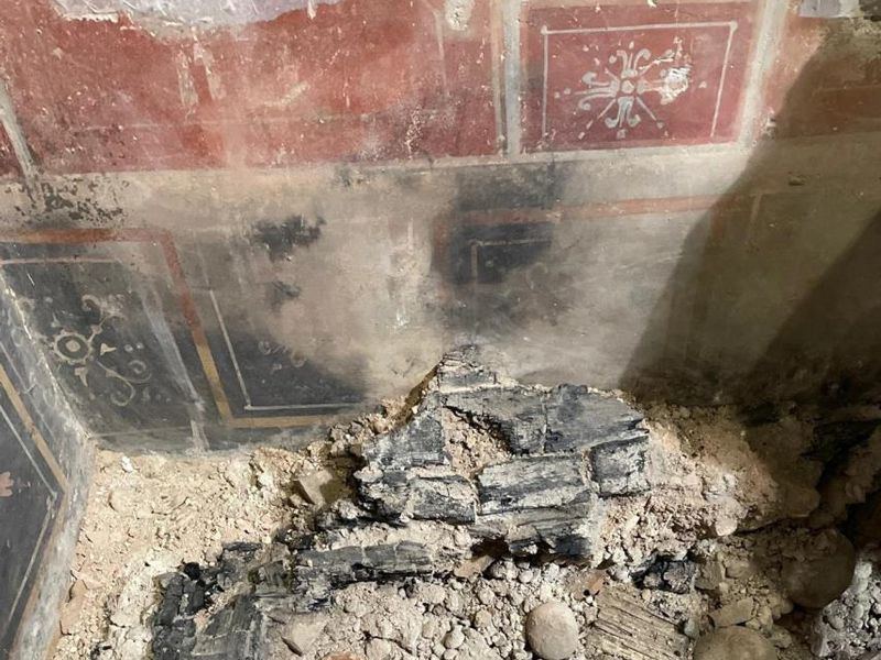 'Mini Pompeii' Preserved by Fire Discovered Beneath Italian Movie Theater