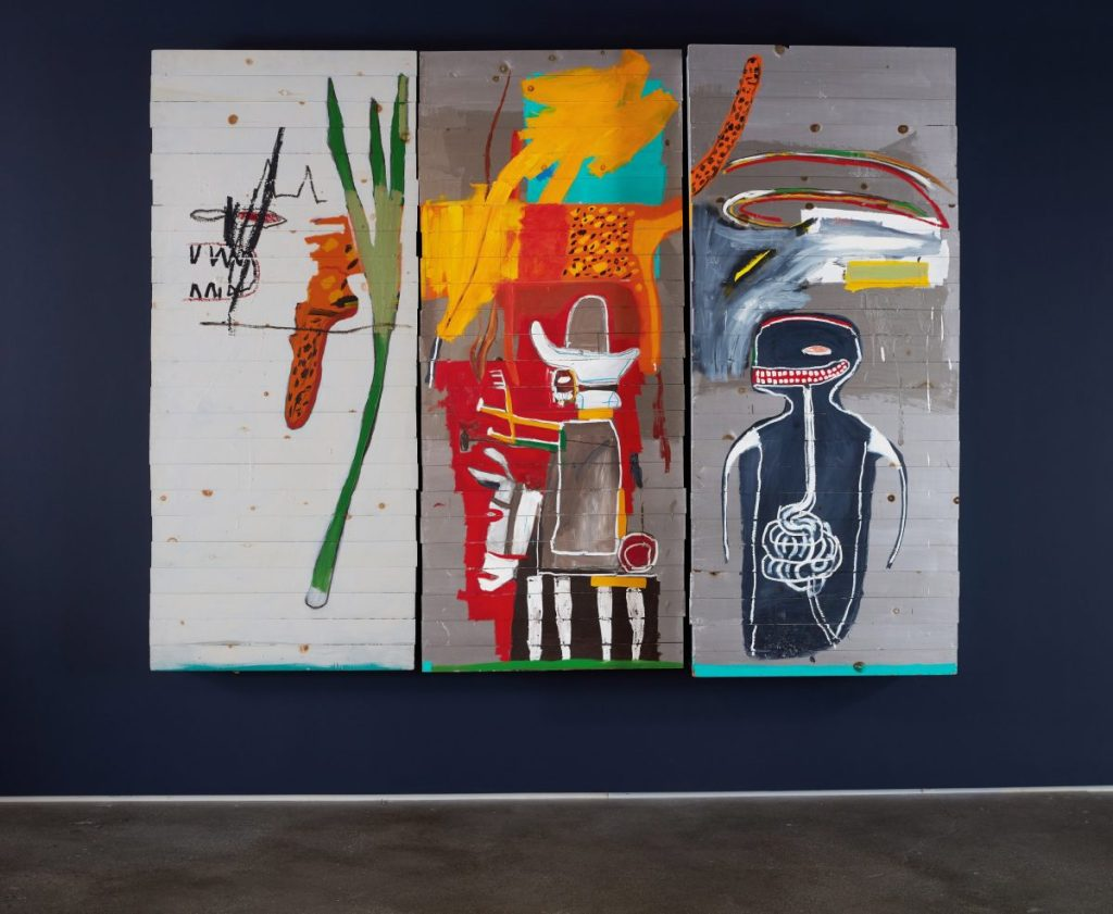 Basquiat Triptych Sells for $37 M. at Sotheby's Celebrity-Curated Sale in Hong Kong