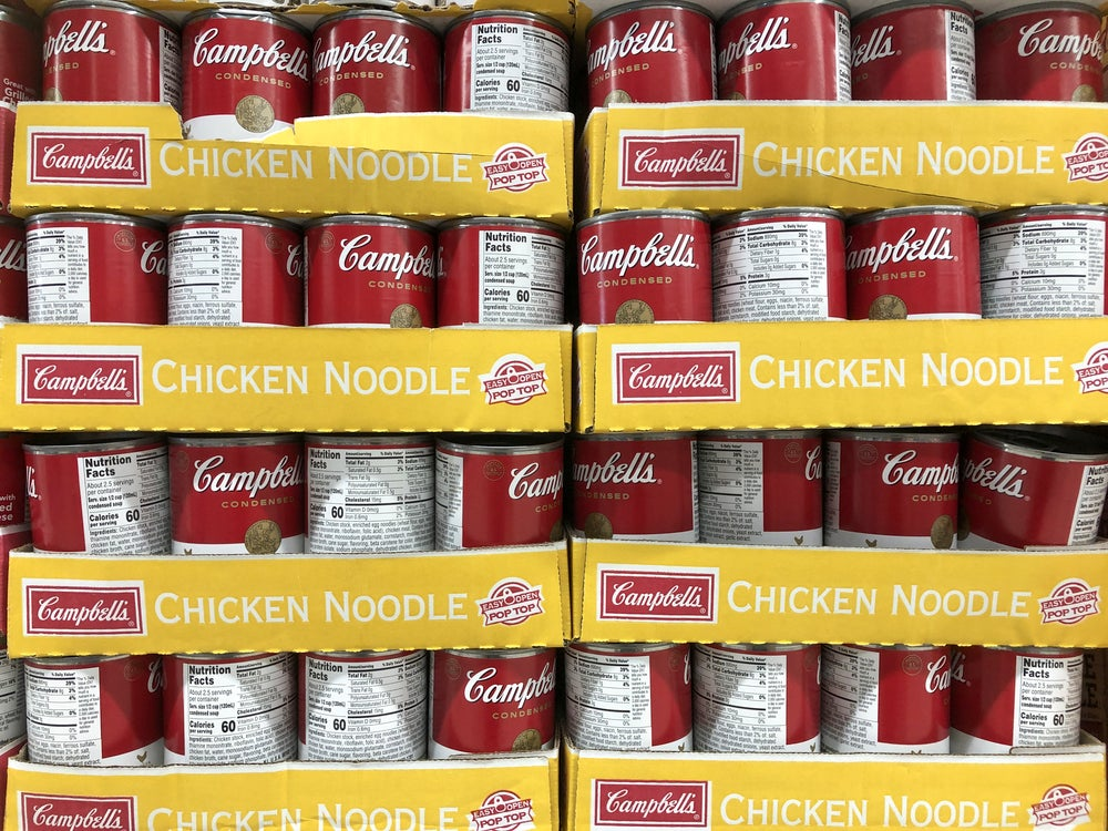 Campbell's Shares In The Soup With Post-Earnings Plunge