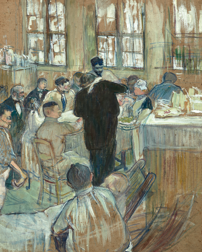 Rare Toulouse-Lautrec Hospital Painting to Sell at Paris Auction