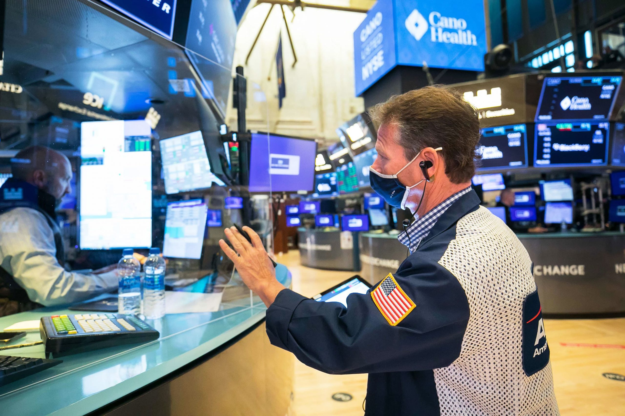Stock futures are slightly higher after Nasdaq and S&P 500 notch fresh records, Fed meeting ahead