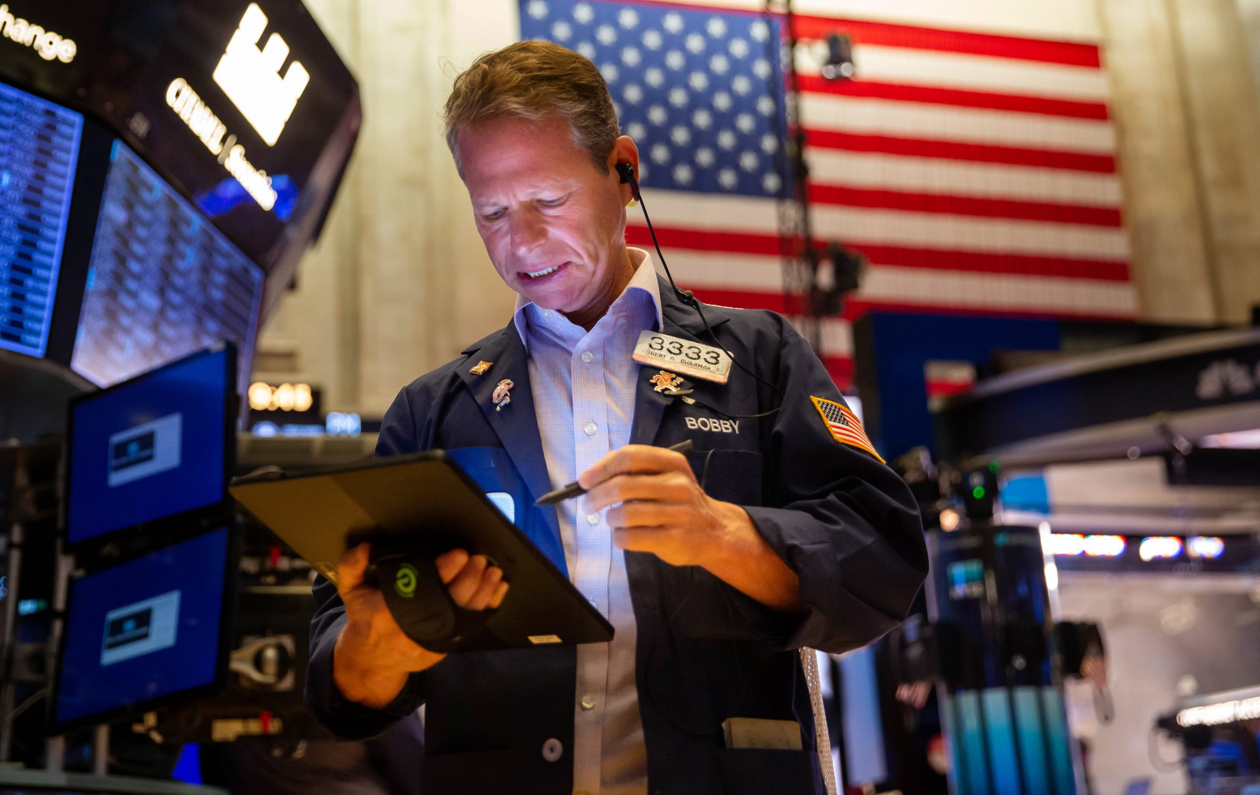 U.S. stocks dip after big jobs report disappointment, Dow loses 100 points